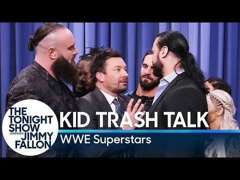 Kid Trash Talk with WWE Superstars