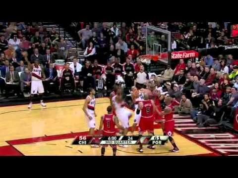 Chicago Bulls 103 – Portland Trail Blazers 109
