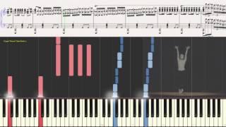 Болеро - М.Равель (вариация) (Ноты и Видеоурок для фортепиано) (piano cover)
