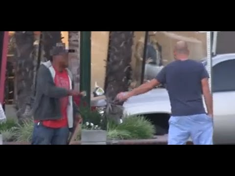Fake Homeless Guy Gets Busted [WATCH]