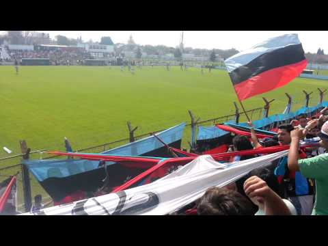 Hinchada de Brown de Adrogue vs Merlo (video 2) año 2015 - Los Pibes del Barrio - Brown de Adrogué