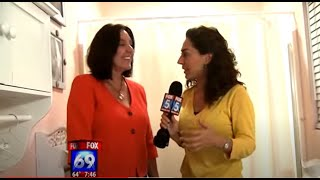 Professional Organizer Kathi Burns on Fox 5 News Bathroom Organizing (Part 2 of 3)