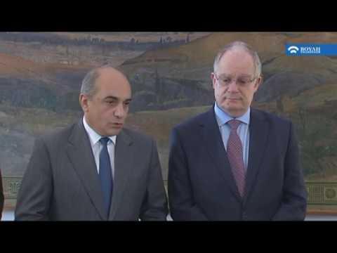 Με τον Πρόεδρο της Βουλής των Αντιπροσώπων της Κύπρου συναντήθηκε ο Πρόεδρος της Βουλής (03/03/2020)