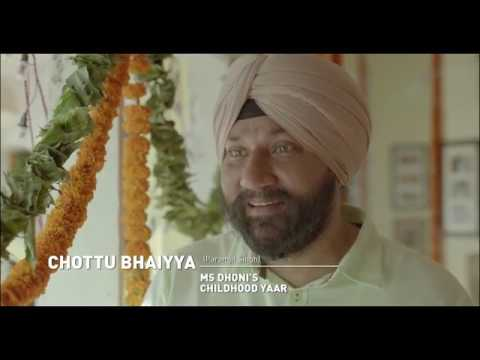 Video A glimpse of MS Dhoni as he goes his hometown download in MP3, 3GP, MP4, WEBM, AVI, FLV January 2017