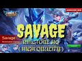 Download Lagu RINGTONE MOBILE LEGENDS - SAVAGE (HQ AUDIO) Mp3 Free