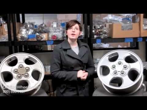 Aura Rims & Aura Wheels - Video of Saturn Factory, Original, OEM, stock new & used rim Co.