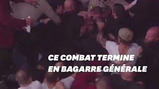 Download Video Ce combat de MMA entre McGregor et Nurmagomedov a fini en bagarre générale MP3 3GP MP4