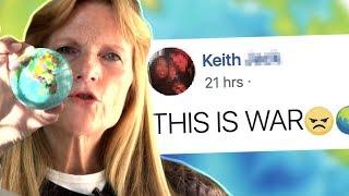 TAKING ON FLAT EARTHERS (TWOTI)