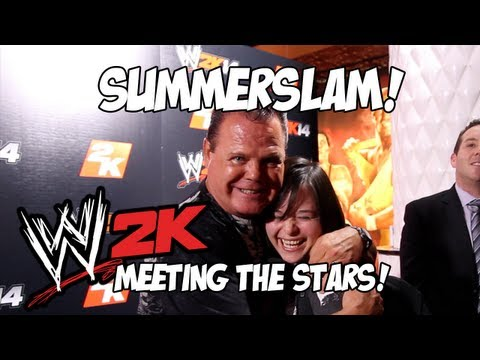 YOGSKIM SPECIAL! WWE Summerslam - Meeting Mick Foley, Jerry Lawler & Daniel Bryan!