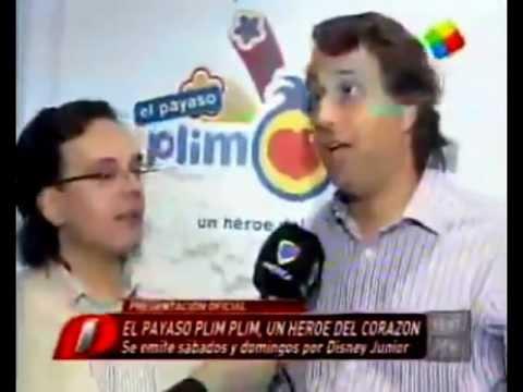 El Payaso Plim Plim un héroe del corazón -Disney Junior - Guillermo Pino - América TV