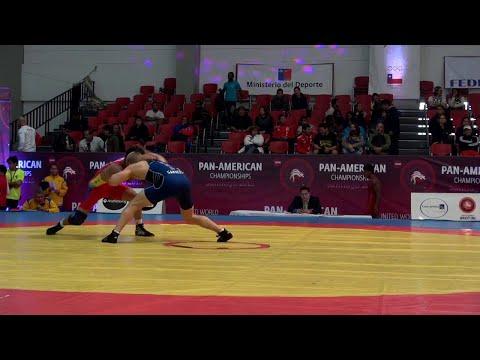 57KG q, Zach Sanders, USA vs Yerson Hernandez, Col