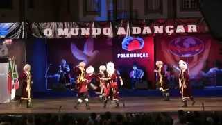 Interpretation of a folk dance that originates from Bashkortostan. Done by Folk Dance Ensemble Bairam, based in Ufa, Bashkiria, Russia. Recorded in Monção, P...
