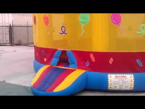BIRTHDAY CAKE JUMPER , BOUNCE HOUSE,  Temecula, Murrieta, Areas