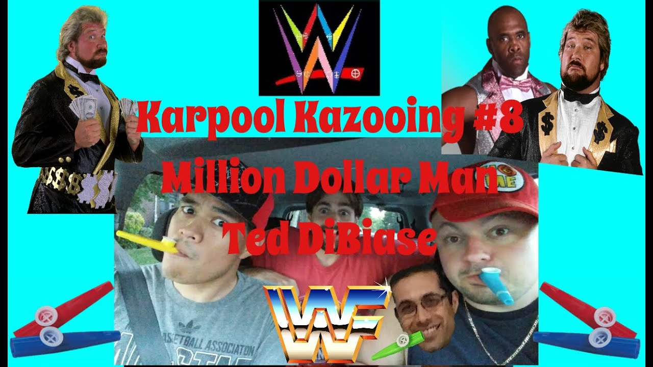 Million Dollar Man Ted DiBiase WWE Theme Song (Kazoo Cover) – Money Inc. – Karpool Kazooing #8