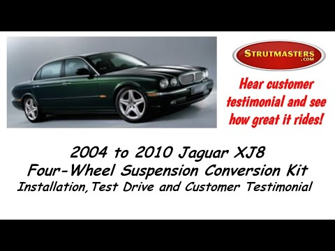2004 Jaguar XJ8 | An Air Spring Suspension Conversion