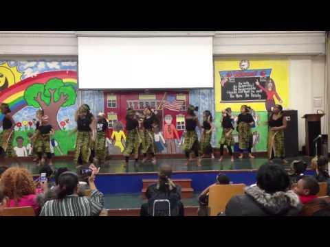 More African drum n dance