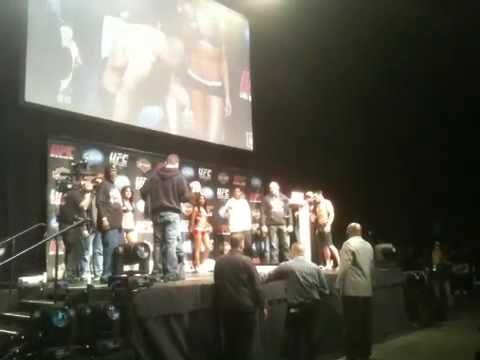 Nate Diaz vs Rory Marhkam Weigh Ins