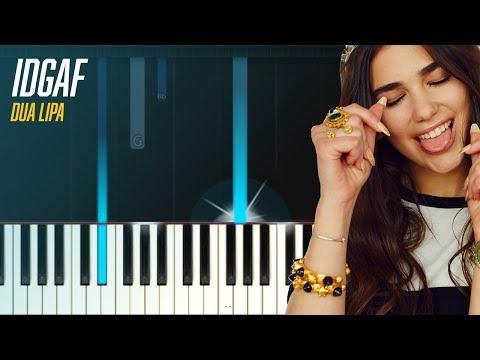 видео игры на фортепиано - IDGAF