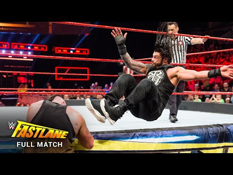 FULL MATCH - Roman Reigns vs. Braun Strowman: WWE Fastlane 2017
