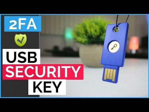 FIDO U2F Yubico Security Key Review - 2FA USB Security Key