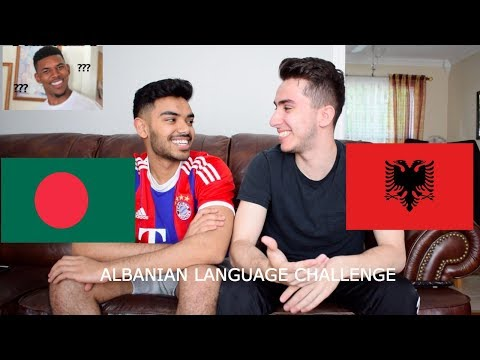 FRIEND TRIES TO SPEAK ALBANIAN