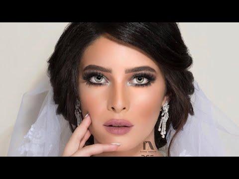 مكياج العروس بالازرق والاخضر /bridal makeup green and bkue (видео)