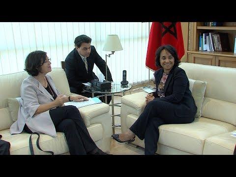 بوستة تستقبل رئيسة الجمعية البرلمانية لمنظمة الأمن والتعاون في أوروبا
