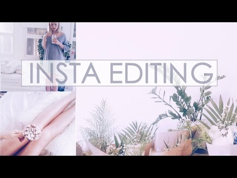 How I Edit my Instagram Photos | PINK THEME IDK