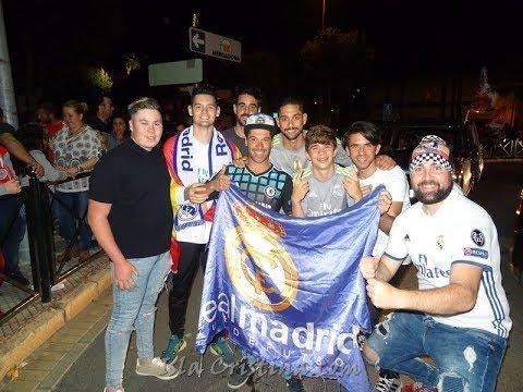 Celebracion 13ª Champions del Real Madrid en Isla Cristina 2018