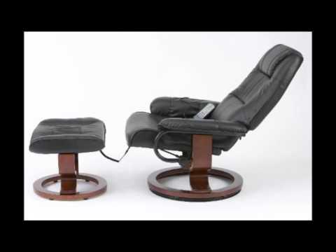 Giantex Zero Gravity Electric Massage Chair Recliner PU Leather W/Controller(Massage Function, Black)
