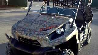 2. 2013 Kawasaki Teryx 750 LE in Camo @ Alcoa Good Times