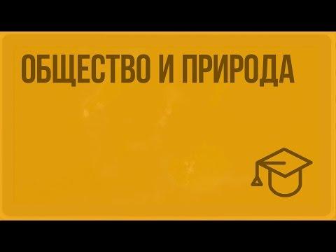 Общество и природа (видео)