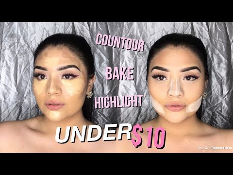 How To : Contour , Highlight & Baking UNDER $10