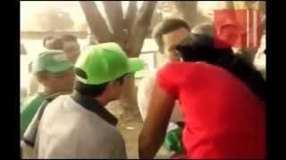 Manuel Velásco (PVEM) gobernador de Chiapas bofetea a trabajador