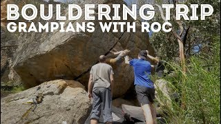 Outdoor Bouldering trip to the Grampians with RMIT Outdoors Club by Jackson Climbs