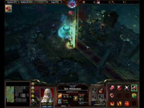 Diablo III Warcraft Beta v1.19b - Demo Diablo III trong Warcraft