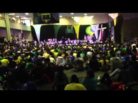 Banda Marcial Marista Pio XII (Ponta Grossa) na II Jornada