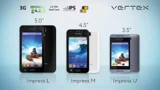 Смартфоны Vertex Impress. Впечатляем каждого!