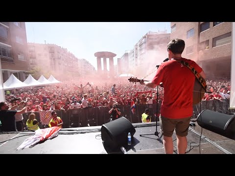 Jamie Webster / BOSS Night - Allez Allez Allez - Plaza Felipe II - Madrid - 01.06.19
