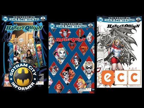 HARLEY QUINN #11, #12 Y #13 | Gotham City Informer | Todo Batman en Español