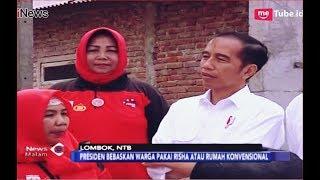 Video Presiden Tinjau Pembangunan Rumah Tahan Gempa di Lombok, NTB - iNews Malam 18/10 MP3, 3GP, MP4, WEBM, AVI, FLV Oktober 2018