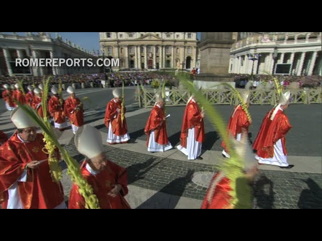 Homily for Palm Sunday Mass in St. Peter's Square
