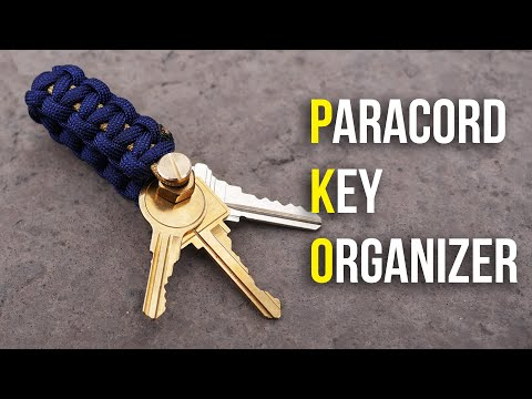 NEW And IMPROVED Paracord DIY Key Organizer | How To Make A Key Organizer Tutorial