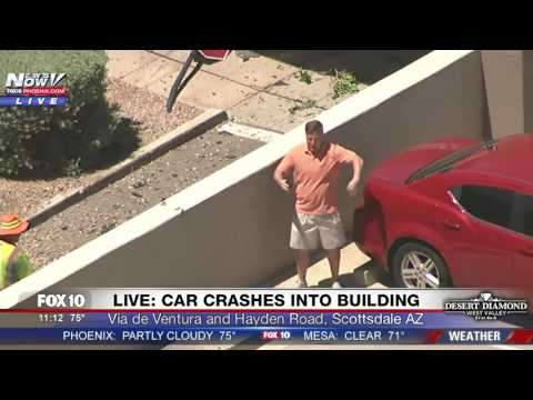Man Realizes He s On Live Helicopter News Video