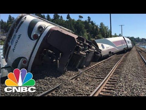 Amtrak Train Derails Near Olympia, Washington | CNBC