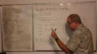 Algebra Intermedia - Lección 3 - A (simplificación De Radicales, Radicales Compuestos)