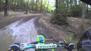 6. Kawasaki KX 250 Dirt bike riding @ The Badlands, IN