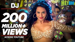 'DJ' Video Song | Hey Bro | Sunidhi Chauhan, Feat. Ali Zafar | Ganesh Acharya | T-Series