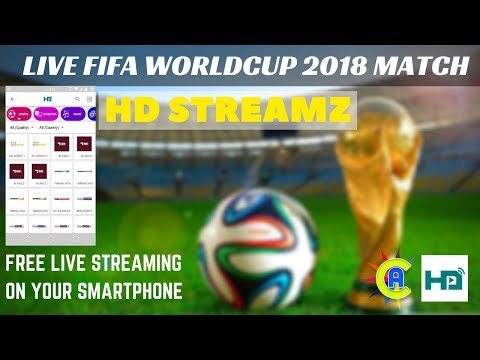 How To Watch Fifa Worldcup 2018 Live On Mobile | HD Streamz Android (Bangla) | App Care BD