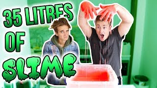 MAKING 35 LITRES OF SLIME WITH JOE SUGG